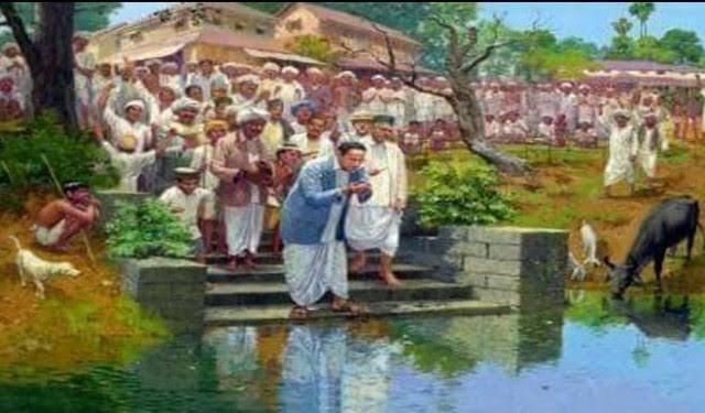 वायकोम सत्याग्रह के बाद 1927 में डॉ0 अम्बेडकर ने महाड़ सत्याग्रह किया था।
